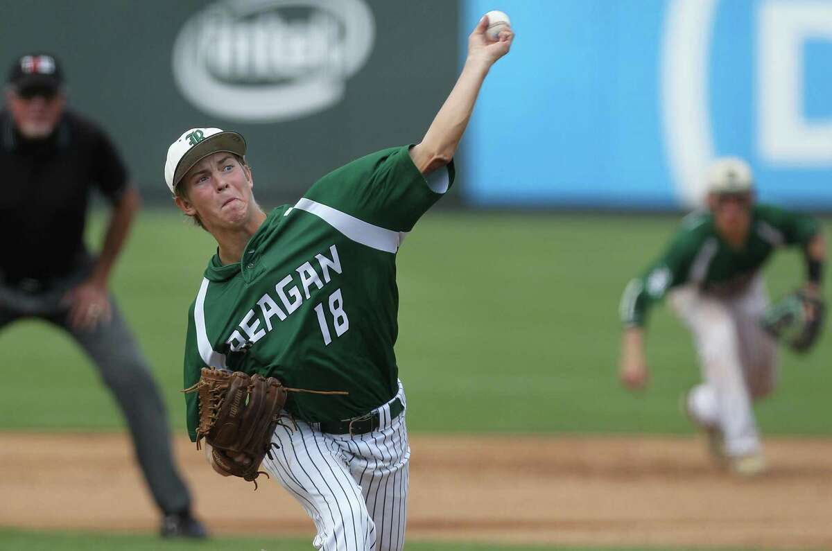 Reagan's Cal Carver, a Wichita State signee, was the Rattlers' top starter most of last season. He finished 13-3 with a 2.33 earned-run average and 103 strikeouts.