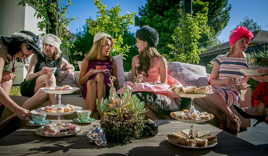 A tea party for Kikoko Cannabis Tea in Mill Valley, Calif., is seen on June 10th, 2017. Photo: John Storey, Special To The Chronicle