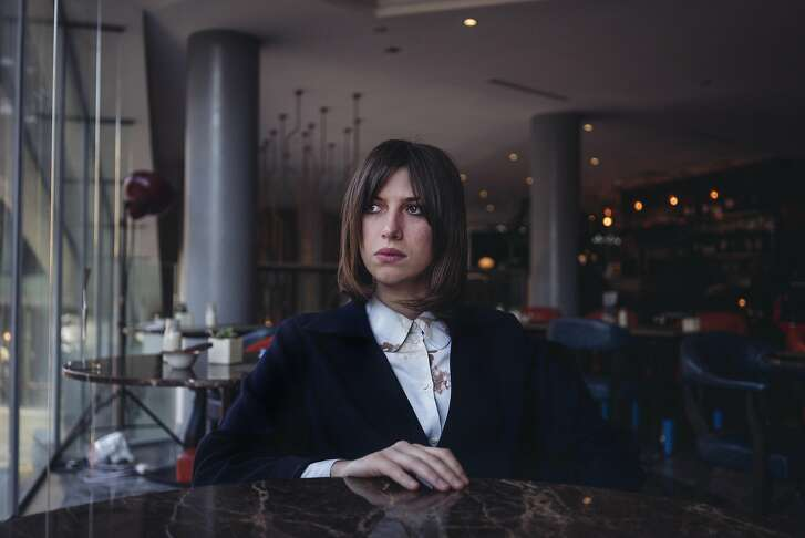Singer-songwriter Aldous Harding in London, April 18, 2017. �Party,� Harding�s second album and first American release, was produced by John Parish, a catalyst for intense songwriters like Polly Jean Harvey and Perfume Genius. (Tom Jamieson/The New  York Times)