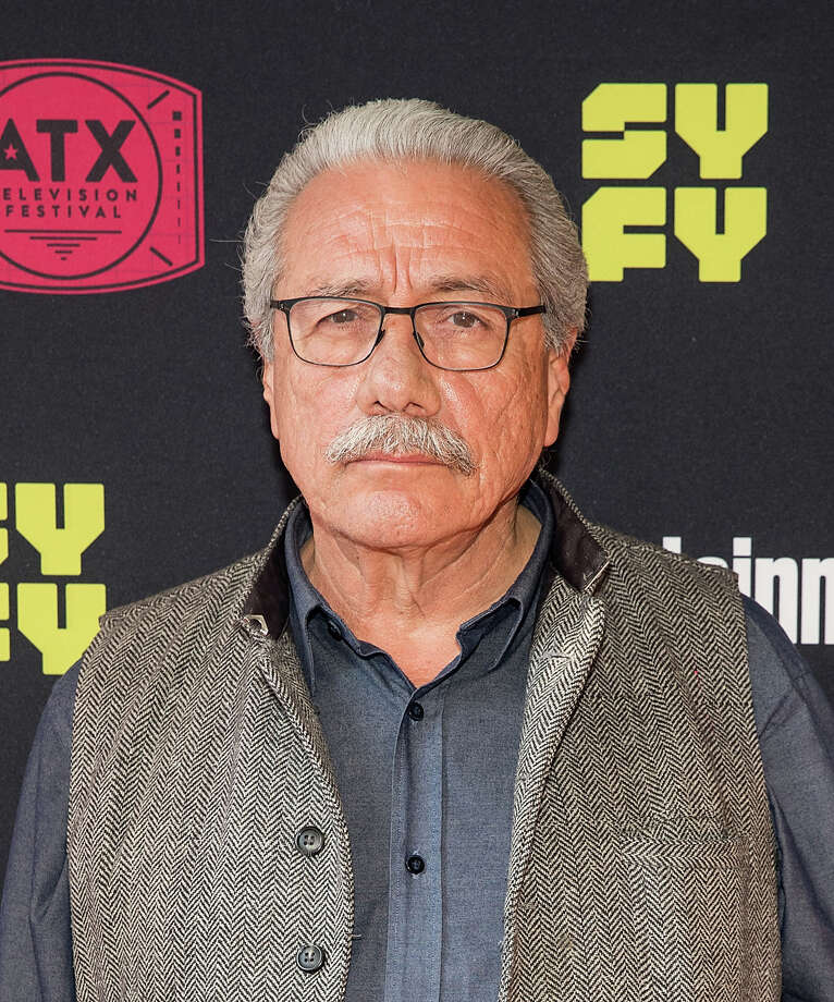 Edward James Olmos attends the closing night reunion panel of Battlestar Galactica presented by Entertainment Weekly and SYFY during the ATX Television Festival on June 10, 2017 in Austin, Texas. Photo: Rick Kern/Getty Images For Entertainment W