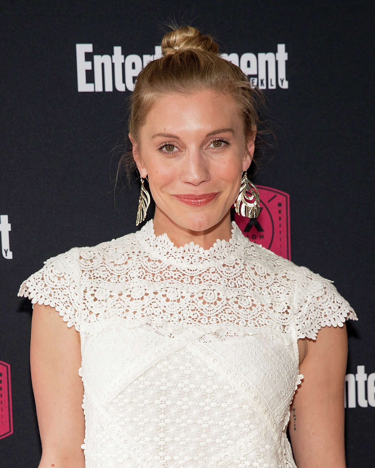 Katee Sackhoff attends the closing night reunion panel of Battlestar Galactica presented by Entertainment Weekly and SYFY during the ATX Television Festival on June 10, 2017 in Austin, Texas.