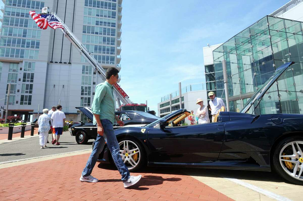Photos from the 3rd Annual Harbor Point Car Show in Harbor Point Square in Stamford, Conn. on Sunday, June 11, 2017.