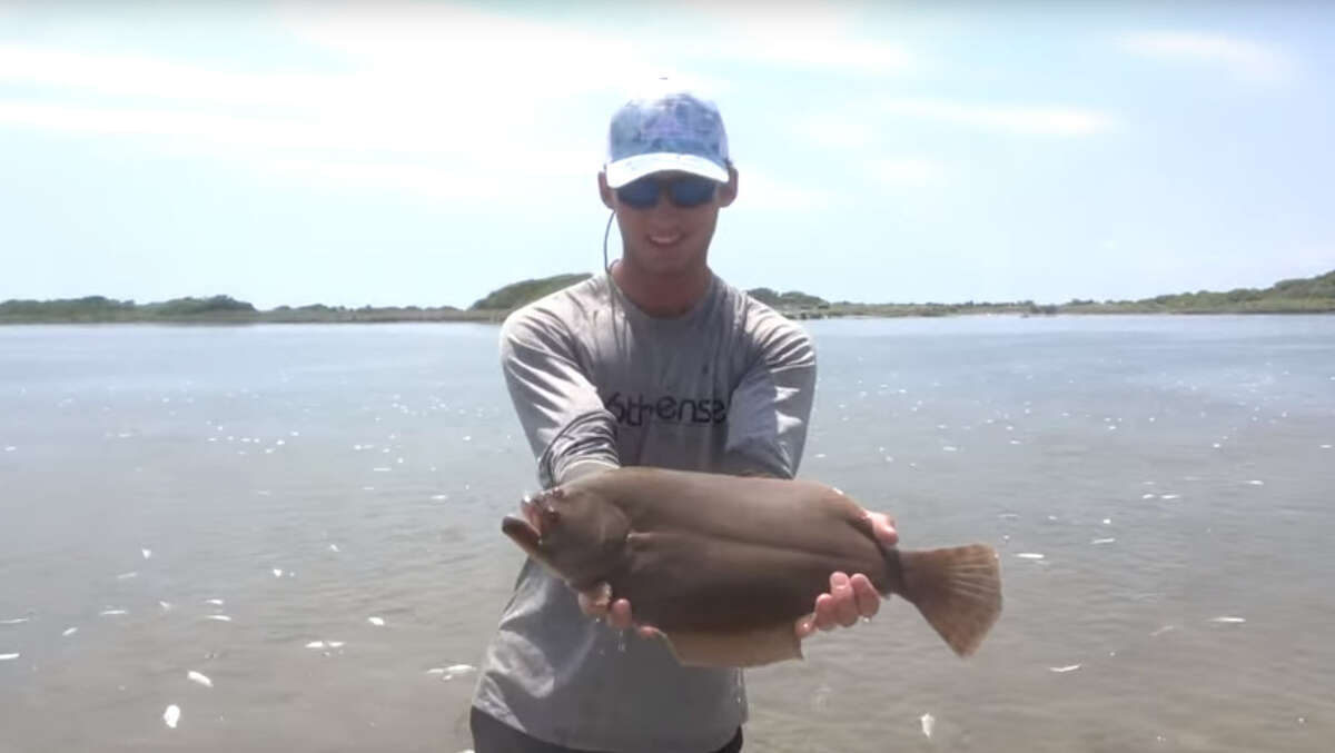 Thousands of fish washed ashore in a river channel in Matagorda, Texas on June 10, 2017. Kyle Naefeli, known as the Fish Whisperer, captured the eerie phenomenon on film.Source: YouTube