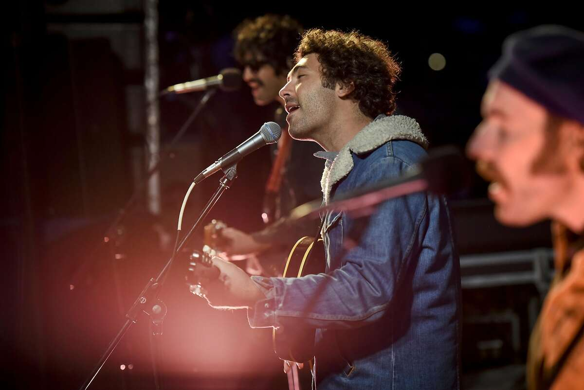 Miles Michaud of the Allah-Las performs during the 2017 Huichica Music Festival held at Gundlach Bundschu Winery in Sonoma, CA, on Saturday June 10, 2017.