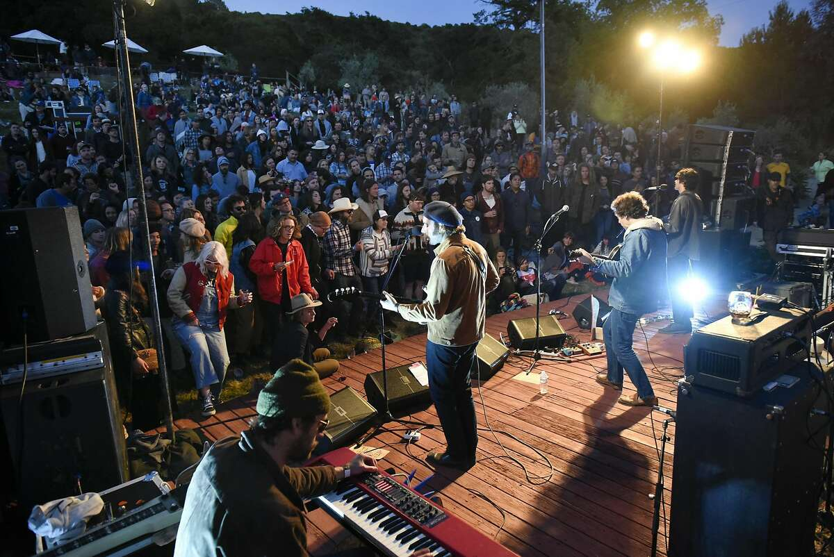 The Allah-Las perform during the 2017 Huichica Music Festival held at Gundlach Bundschu Winery in Sonoma, CA, on Saturday June 10, 2017.