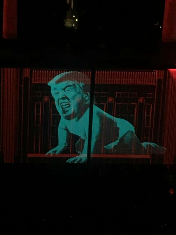Roger Waters performed at the Oracle Arena in Oakland on June 10, 2017. The show was filled with political and anti-Trump statements. Photo: Amy Gregory