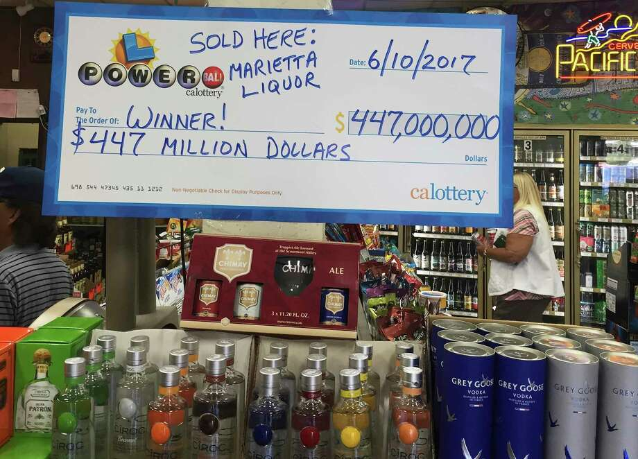 The winning Powerball ticket was sold at a liquor store that serves a retirement community in Southern California. It is the 10th largest lottery prize in U.S. history. Photo: Fadi Alberre, HONS / Fadi Alberre