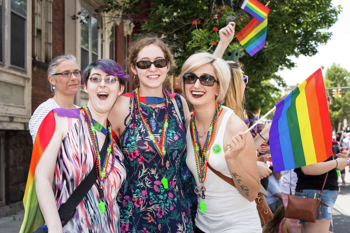 Were you Seen at the Capital Pride Parade & Festival in Albany's Washington Park on Sunday, June 11, 2017?
