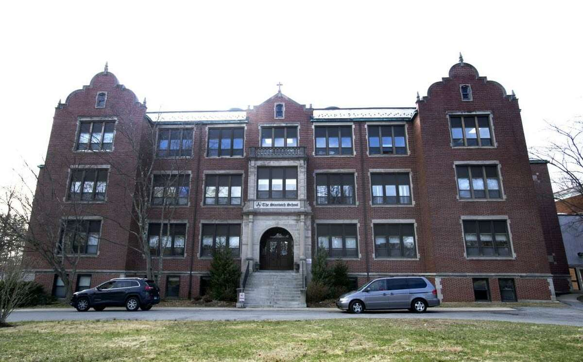 200 Strawberry Ave. in Stamford, Conn., on Thursday, April 3, 2014, about which the Board of Education's Operations Committee will vote and could approve the city's purchase of the property.