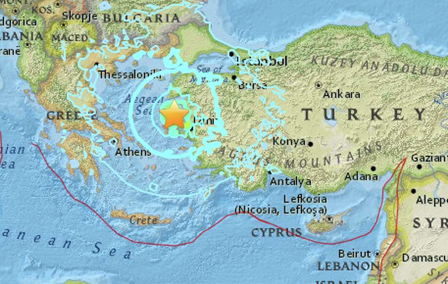 Injuries as 6.3-magnitude quake rocks Turkey, Greek islands
