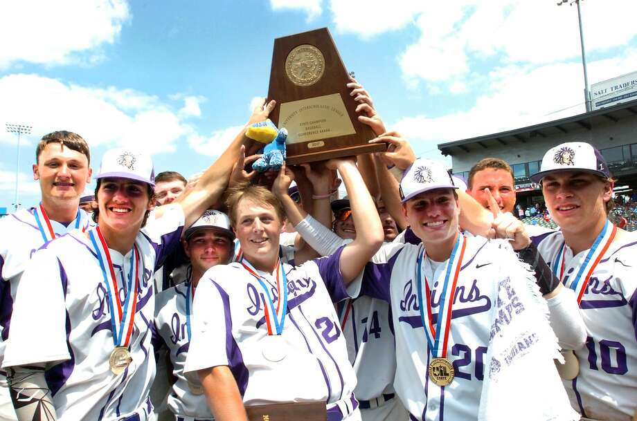 The Port Neches-Groves Indians won the Class 5A state baseball championship Saturday at Dell Diamond in Round Rock.  Photo: Mike Tobias