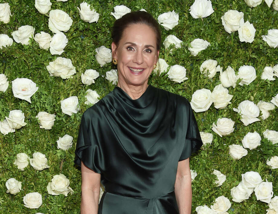 Laurie Metcalf arrives at the 71st annual Tony Awards at Radio City Music Hall on Sunday, June 11, 2017, in New York. Photo: Associated Press Photo / 2017 Invision