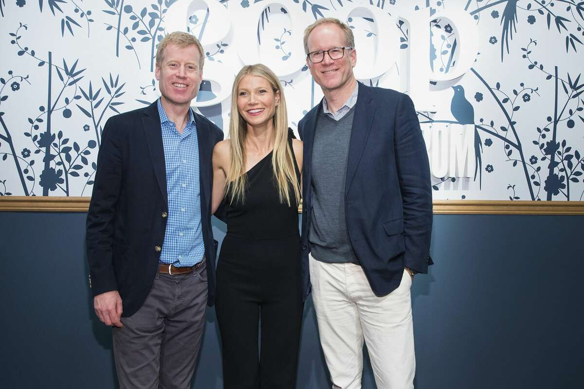 (L-R) Erik Nordstrom, Gwyneth Paltrow and Pete Nordstrom visit goop-In@Nordstrom for Book Signing on May 19, 2017 in Seattle, Washington. Paltrow's controversial lifestyle and wellness company, Goop, has agreed to refund some customers who purchased its vaginal eggs and pay out $145,000 in consumer-protection lawsuit settlement, California prosecutors announced this week.