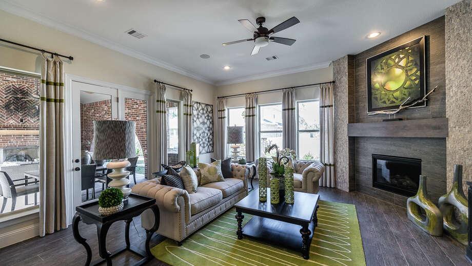 Darling Homes is selling luxury homes  in Waterbridge, a new Creekside Park neighborhood at The Woodlands. Photo: Darling Homes / Mel Garrett