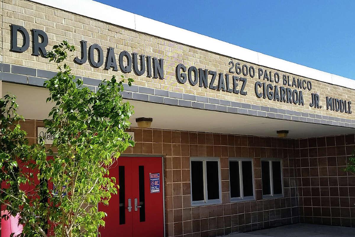 13. Joaquin Cigarroa Middle School Children at Risk Grade: C- State Rank: 1,333