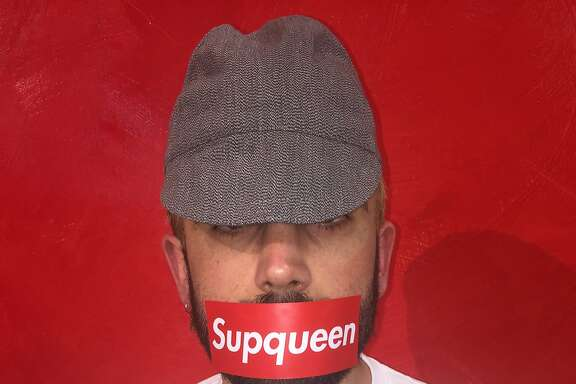 """The """"Supqueen"""" t-shirts by artist De Kwok are a take on the popular Supreme brand logo. $30 at Modern Appealing Clothing including t-shirt, sticker and button."""