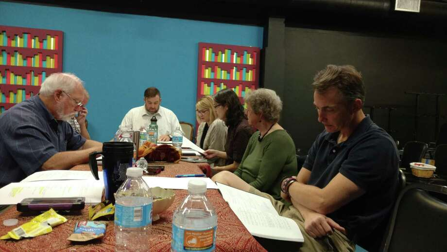 "San Antonio theater artists took part in a table reading of ""Bound by Truth,"" a new historical drama written by Sheila Rinear, at Classic Theatre last year. Classic has used grant money to hire a dramaturg to work with Rinear on the play. Photo: Courtesy Classic Theatre"