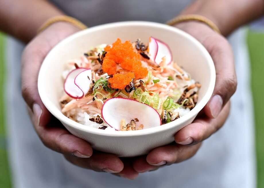 Kani baked poke bowl at SeaSide Poke, a new Hawaiian poke restaurant opening in Houston's EaDo neighborhood. Photo: Kimberly Park