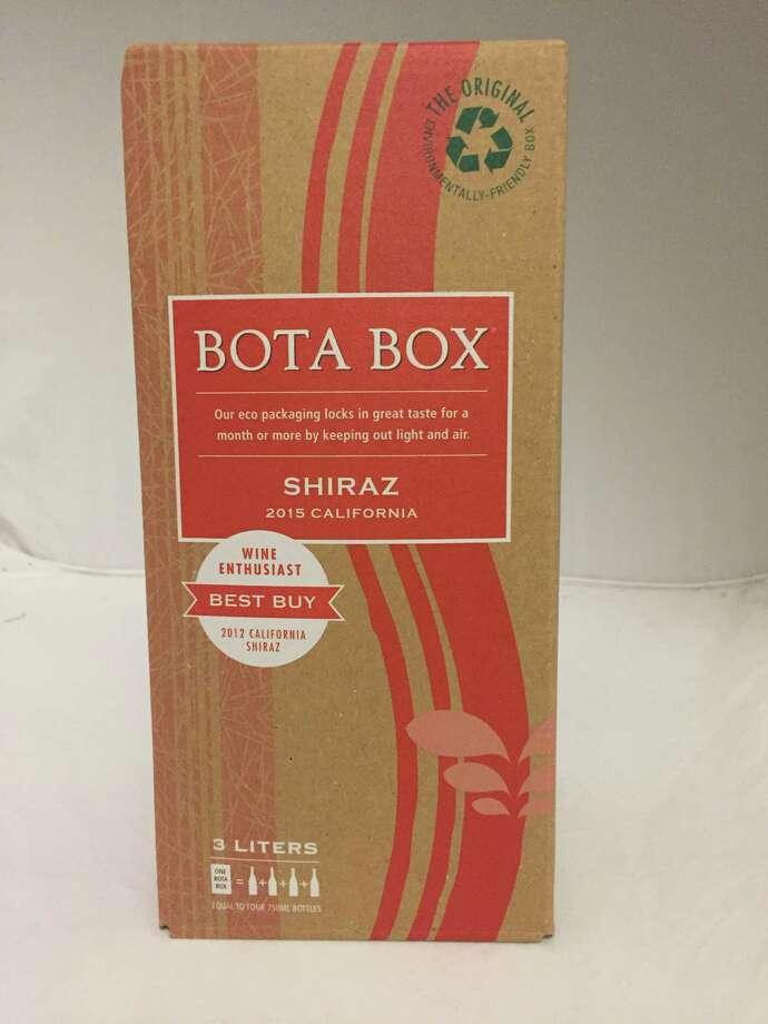 2015 Bota Box Shiraz Photo: Dale Robertson