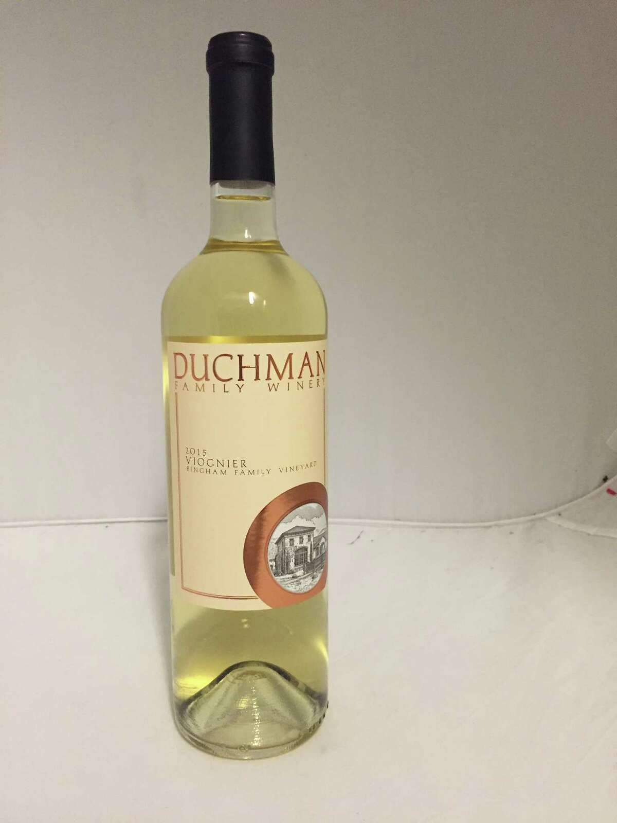 2015 Duchman Family Vineyards Viognier