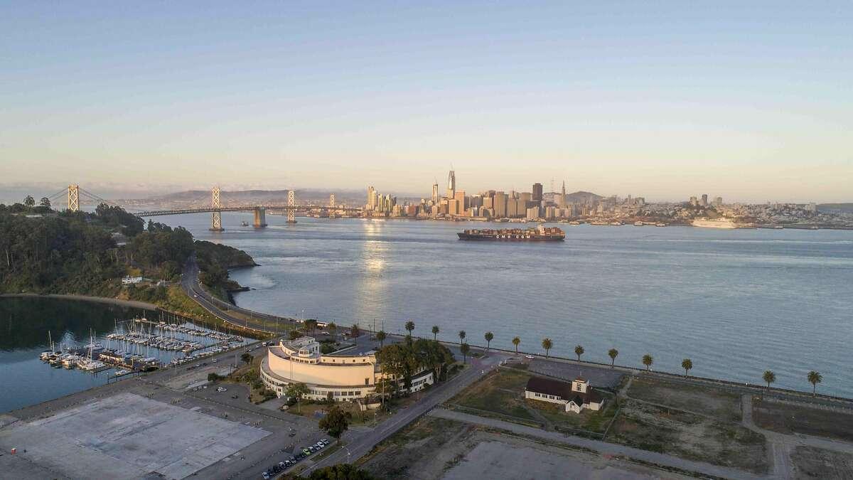 Treasure Island offers sweeping views of San Francisco.