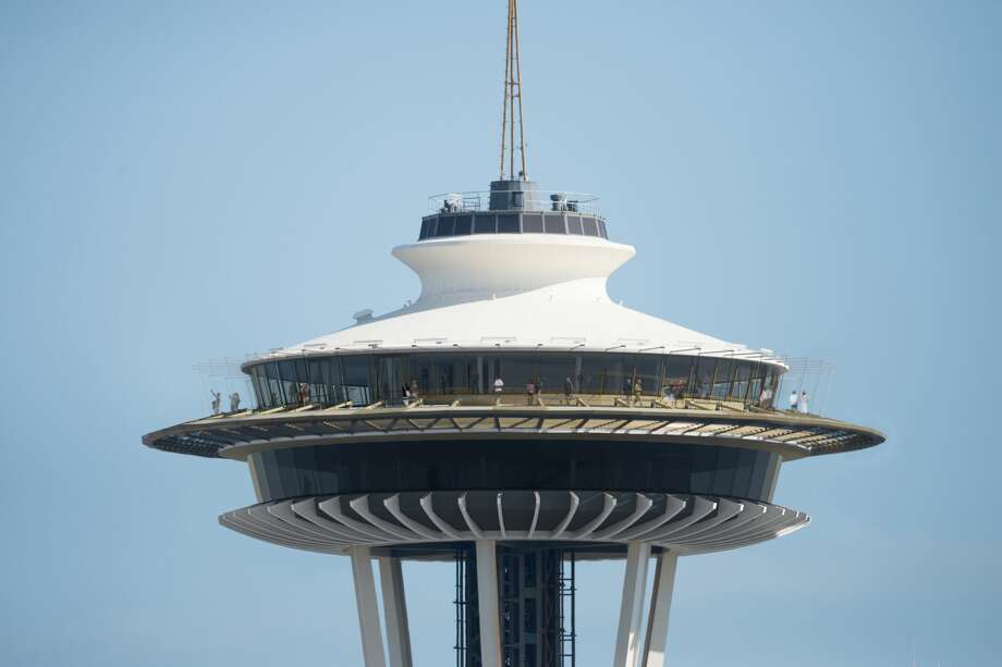 Before: An exterior shot of the Space Needle. The Space Needle announced details of a $100 million renovation Monday, June 12, 2017. Photo: Space Needle