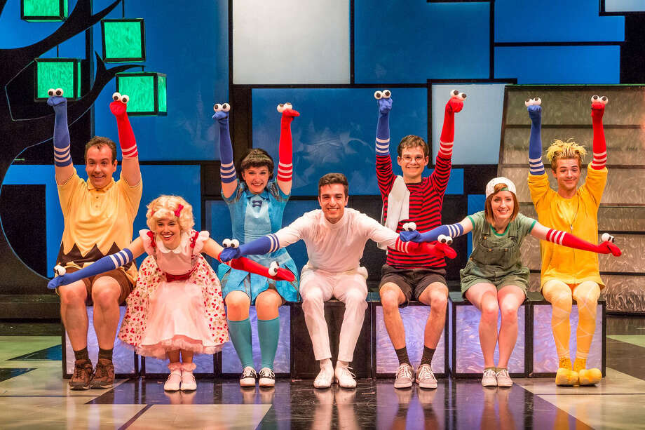 """The Theatre Under The Stars production of """"The World According to Snoopy"""" runs through Sunday."""