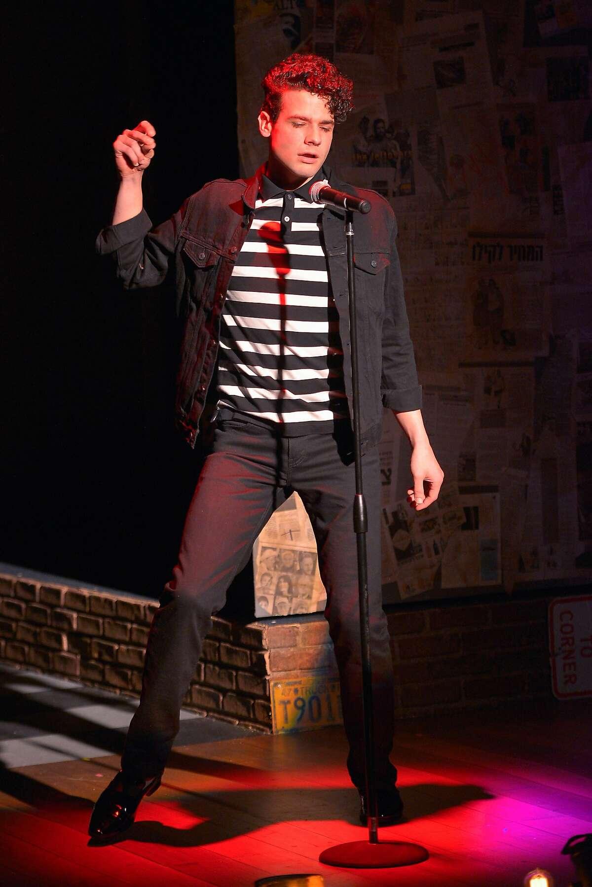 """Casey (Adam Magill) in Marin Theatre Company's """"The Legend of Georgia McBride."""""""