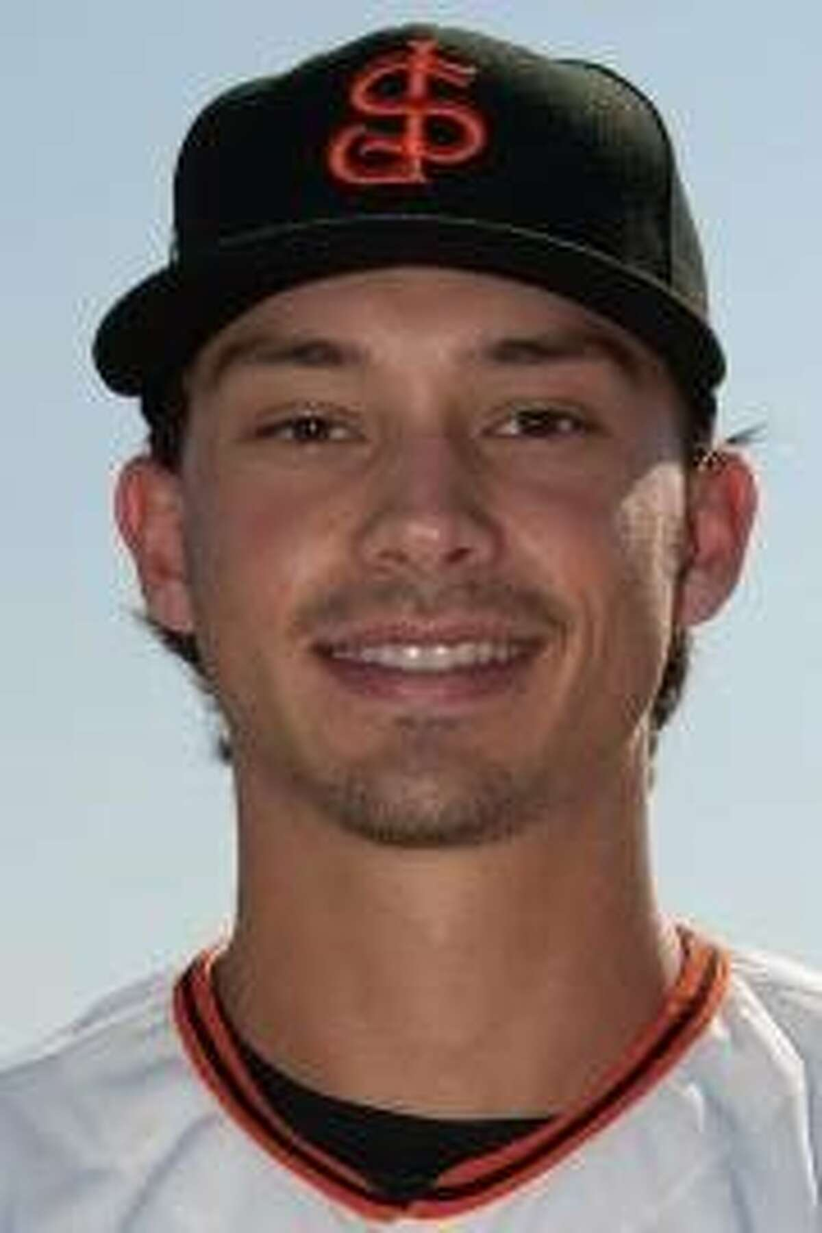 San Jose Giants outfielder Bryan Reynolds, whom the Giants selected with their first pick in the 2016 draft