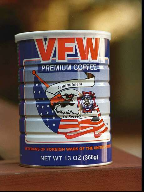 VFW coffee will be sold at the upcoming Veterans Day parade Sunday in Stamford.   Nov 10, 94 Tom Ryan/Staff Photo Photo: ST