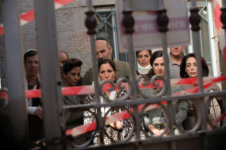 """A Jewish congregation becomes divided when their Jerusalem synagogue must undergo repairs in """"The Women�s Balcony.""""  Photo: Menemsha Films Photo: Menemsha Films"""
