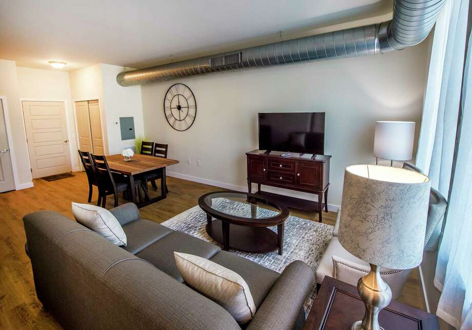 Interior View Of The Model Apartment Of The Draper Project Which Is Under  Construction Monday June