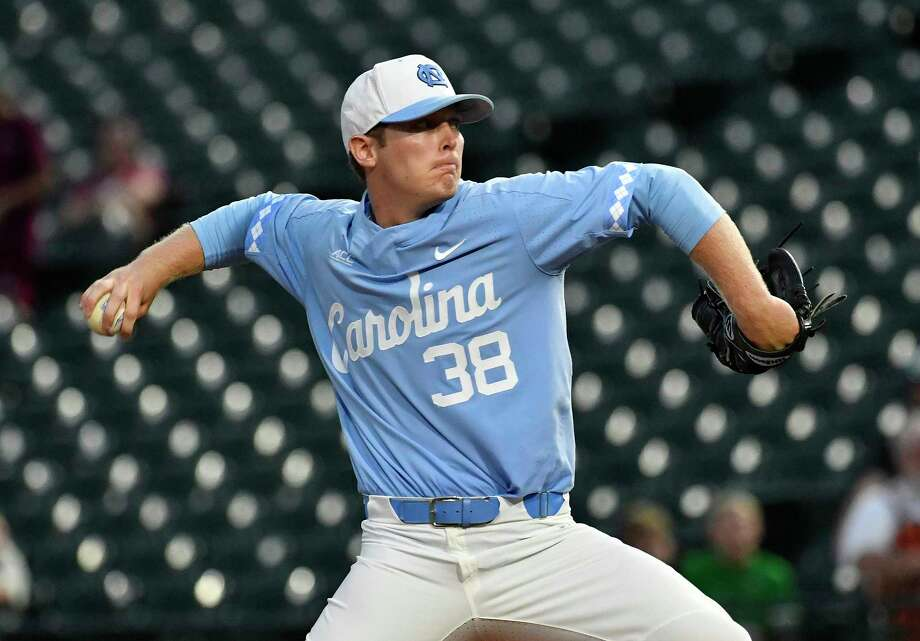 North Carolina pitcher J.B. Bukauskas was the Astros' first pick in this year's draft at No. 15 overall. Photo: Timothy D. Easley, Associated Press / theACC.vom