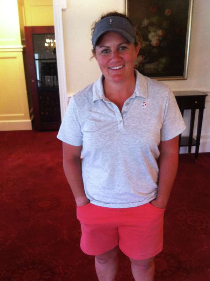 Becky McDaid won the Met PGA Women's Stroke Play Championship on Monday at Innis Arden Golf Club. Photo: Contributed Photo