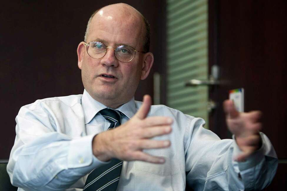 John Flannery, who previously led GE's India operations and is now taking over for GE CEO Jeff Immelt, speaks during an interview in Gurgaon, India back in 2011. (Prashanth Vishwanathan/Bloomberg)