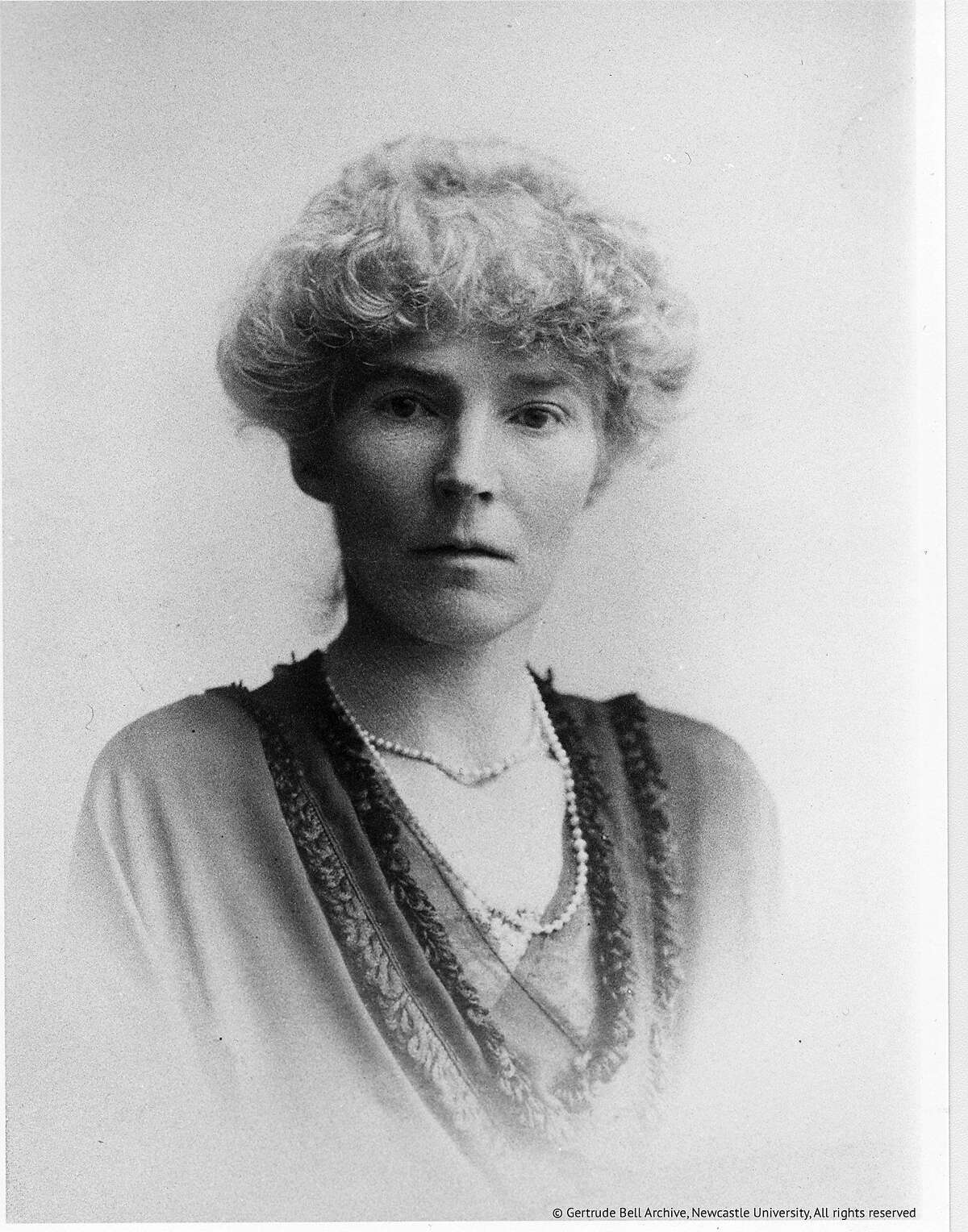 A portrait of Gertrude Bell in the documentary