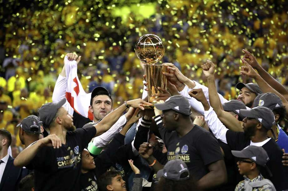 Odds to win 2018 NBA championshipGolden State Warriors: 5/6 Photo: Ezra Shaw, Staff / 2017 Getty Images