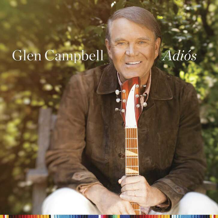 """This cover image released by Universal shows """"Adios,"""" the final release by country legend Glen Campbell. (Universal via AP)"""