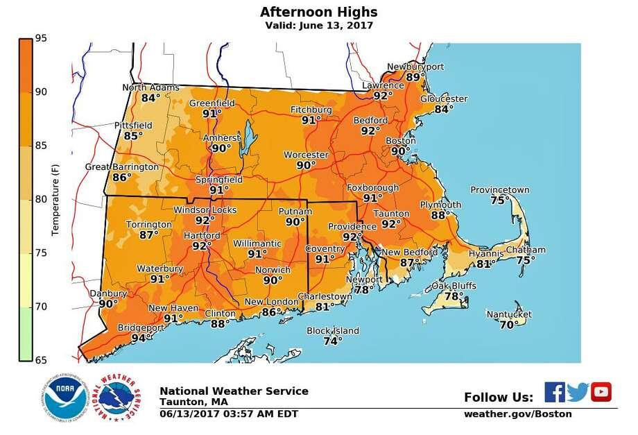 Temperature Records Broken 1 More Day Of Heat