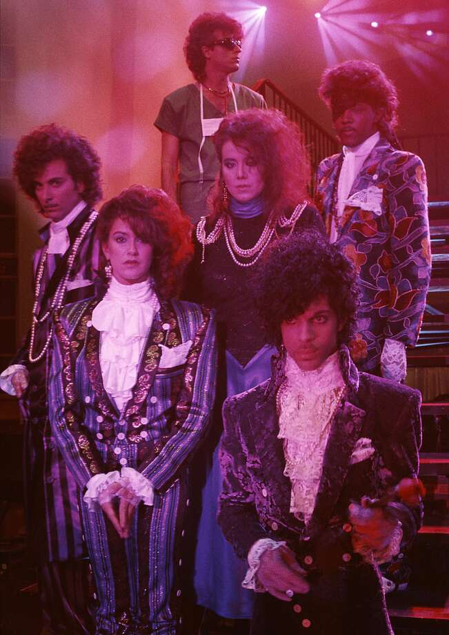 The Revolution was the backing band for Prince in the 1980s. The band included guitarist Wendy Melvoin, bassist Brown Mark (Mark Brown), drummer Bobby Z (Robert Rivkin) and keyboardists Matt Fink and Lisa Coleman. They played on such albums as Purple Rain and 1999. After Prince's death in 2016, the band reunited for a tour in 2017. Photo: Nancy Bundt