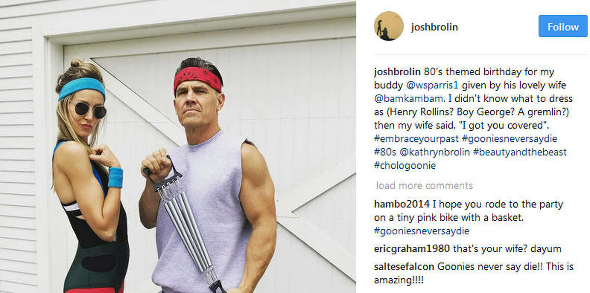 """Recently actor Josh Brolin went to a costume as his character from beloved kids movie """"The Goonies"""" and everyone was all like """"Hey, they should make a sequel"""" and stuff. (SOURCE: Josh Brolin on Instagram) >>THEN & NOW: See what the cast of 'Goonies' looks like now ..."""