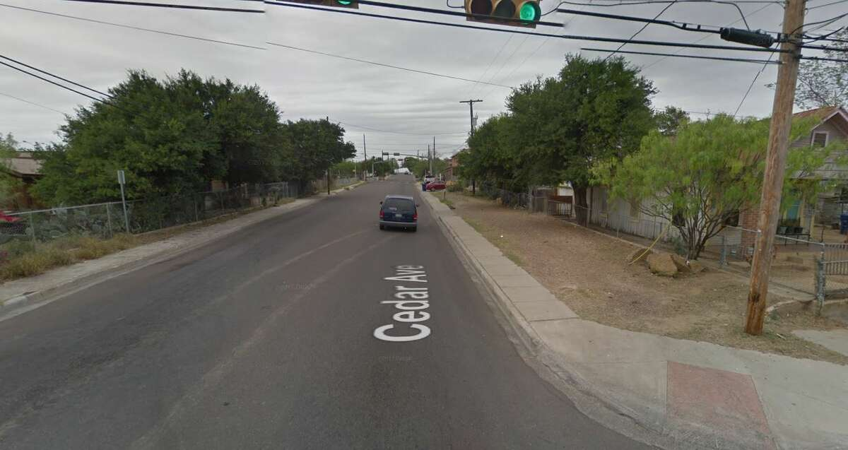 The 2200 block of Cedar Avenue in Laredo is pictured.