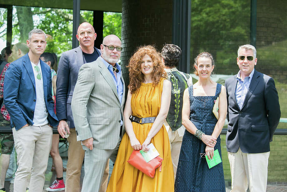 The annual Glass House Summer Party took place at the Philip Johnson Glass House in New Canaan on June 10, 2017. Guests enjoyed live performances, art installations and exhibits, music, a picnic, an auction and the chance to stroll the 49-accre property. Were you SEEN? Photo: Brendon Goldacker
