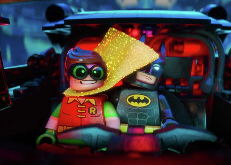 "Try as he might, Batman can't go it alone in ""The Lego Batman Movie."" Photo: Warner Bros."