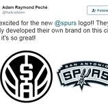 02db8aabd New  awful  Spurs logo now featured on T-shirt - San Antonio Express ...