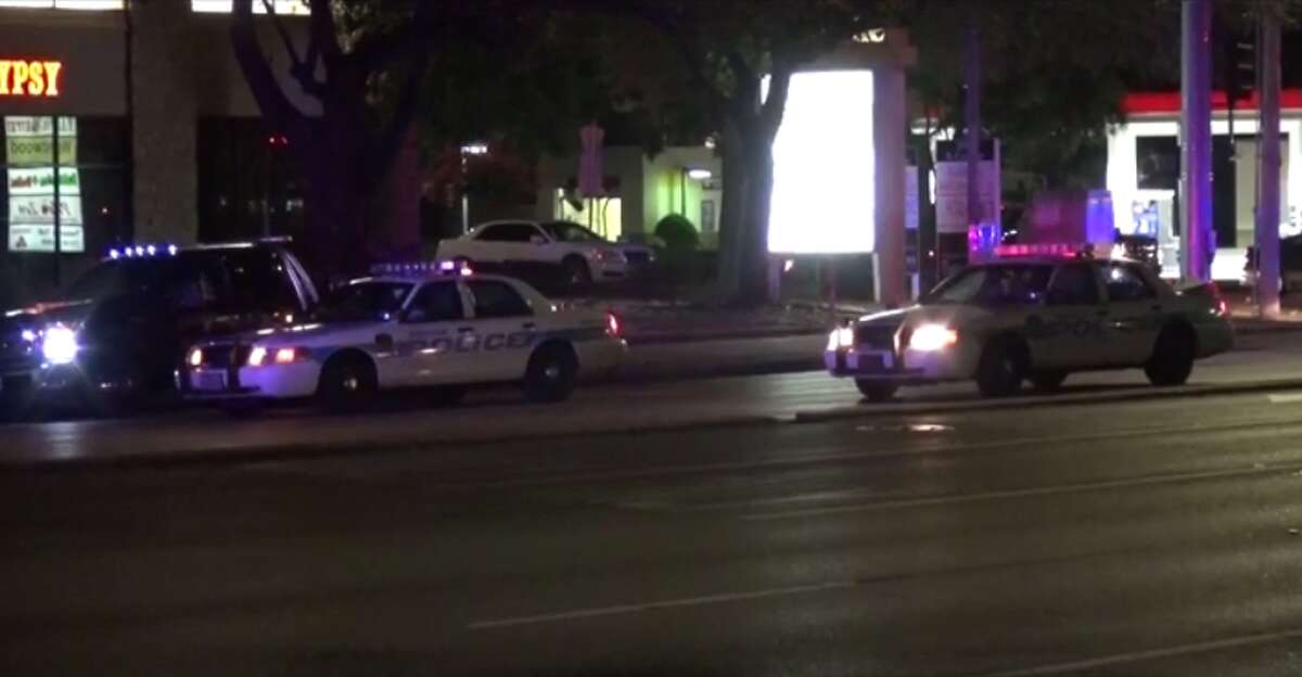 A 49-year-old woman is expected to be charged with driving while intoxicated after she injured a police officer and hit a patrol car late Monday in west Houston. (Metro Video)