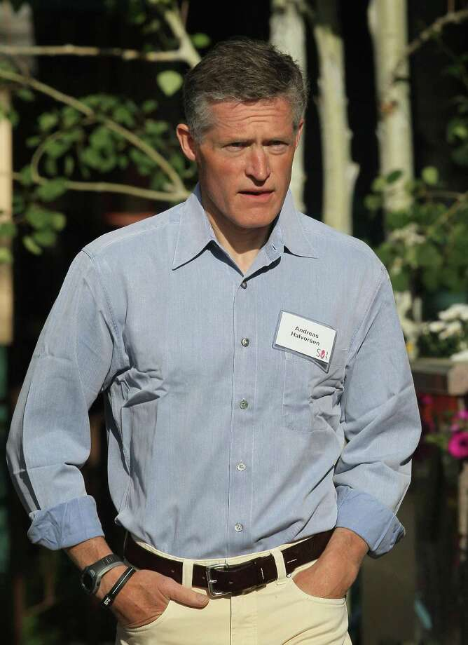 Viking Global Investors founder Andreas Halvorsen in July 2011 in Sun Valley, Idaho. (Photo by Scott Olson/Getty Images) Photo: Scott Olson / Getty Images / 2011 Getty Images