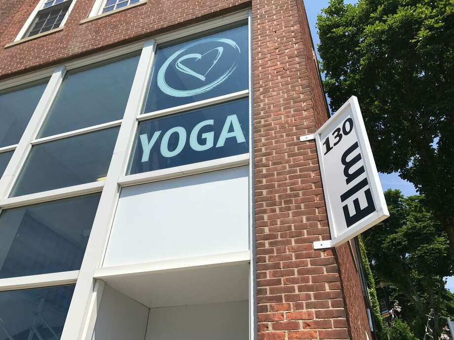 130 Elm St., Bridgeport: Great Heart Yoga Studio opened last month in downtown Bridgeport. The studio is tucked away on the second floor of the brick building on Elm Street, next to the downtown staircase leading up toward Golden Hill Street and the City Hall building. The studio teachers can be reached at 203-522-5600. Photo: Keila Torres Ocasio / Hearst Connecticut Media