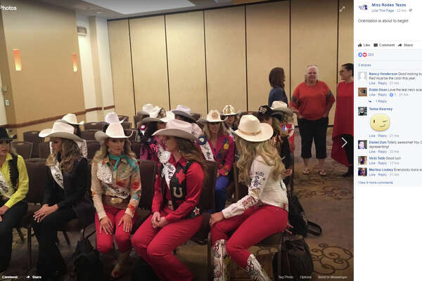 """Miss Rodeo Texas : """"Orientation is about to begin!"""""""