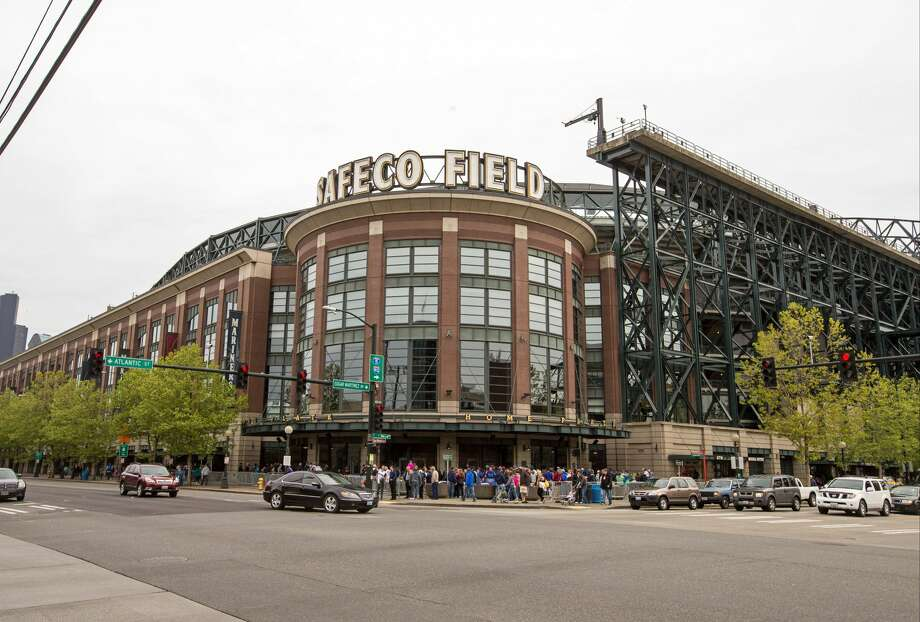 A general view of the exterior of Safeco Field prior to the game between the Seattle Mariners and the Minnesota Twins on April 26, 2015. The Mariners announced Tuesday the stadium's naming rights deal with Safeco insurance would not be renewed. Photo: Brace Hemmelgarn/Getty Images